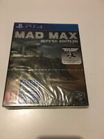 ❤️ Playstation 4 Neuf Sous Blister Pal Fr ps4 mad max ripper edition exclusif li