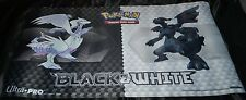 Reshiram & Zekrom Black & White Playmat Pokemon Trading Card Game Ultra Pro 2011