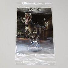 Jurassic World Raptor Pizza Promo Collectible Trading Card Park | Velociraptor