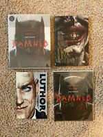 Batman Joker Graphic Novel Lot Damned Comic Book One 1 Rare TPB Hardcover Vol