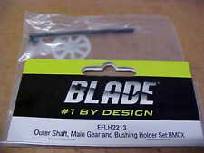 BLADE HELICOPTER PART = EFLH2213 = OUTER SHAFT, MAIN GEAR & BUSHING : BMCX (NEW)