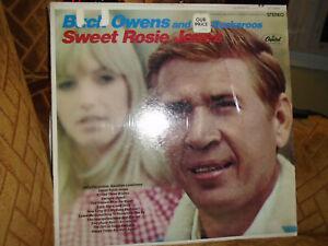 1968-'75 Buck Owens Buckaroos Roy Clark Sweet Rosie Jones Heart Sealed MT LPs NR