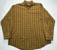 Viyella Long Sleeve Button Down Shirt Mens SIZE XL  Cotton/Wool