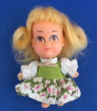 "Vintage 1968 Hasbro Storykins Goldilocks 3"" Doll w/ Dress 8702"