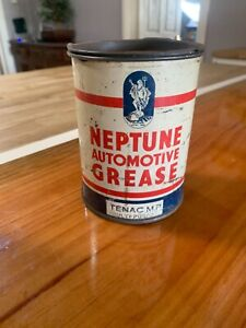 Vintage original Neptune Automotive Lubricant can
