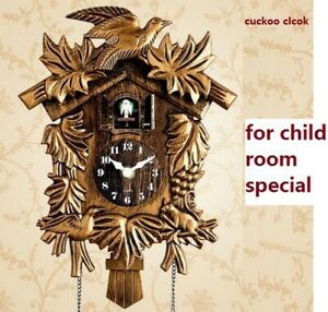 Cuckoo Clock Fashion Living Room Wall Clock call Day Time Only 20inch Alarm Cloc