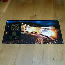 SIMPLE MINDS - IN THE CITY - MEGA RARE FRENCH ONLY CARDBOARD DISPLAY 16 X 32!!!!
