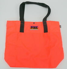 Victoria's Secret PINK Tote Bag Neon Coral - LIMITED EDITION NEW