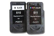 2x XXL CARTUCHO TINTA negro y color para CANON PG-510 CL-511 Pixma MP280