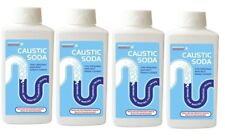 Caustic Powder Best Sink Toilet Drain Block Powder Cleaner Unblock Unblocker X 4