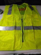 Comcast Xfinity Safety Vest Class 2 Level 2 OK5050407(LIME_GREEN _COMCAST) MED