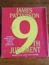The 9th Judgement by James Patterson 5 CD audiobook read by Carolyn McCormick