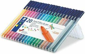 Staedtler Triplus 20 Fibre-tip Pens 323 sb20,pack of 20