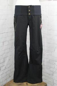 686 Gossip Softshell Snowboard Pants, Women's Small, Black New 2022