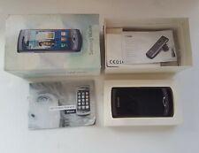 Retro Samsung Mobile Phone, Vintage Samsung Wave Hand phone, Rare GT-S8500 Phone