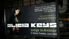 Alicia Keys - songs in a minor-1-poster-2sided-12Ã —24inches-nmint-veryrare-O op!