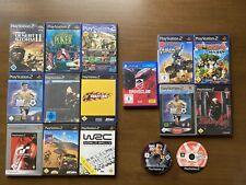 11x PS2 Spiele / Sammlung / Set / Sony PlayStation 2 Spiele Paket / Anleitung