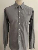 OLIVER SPENCER Mens Striped Shirt Size XL