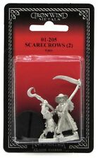 Ral Partha 01-205 Scarecrows (Set of 2) Construct Golem Warriors Horror Monsters