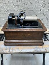 Edison Standard Combination Type Model D Cylinder Phonograph Antique 1900's