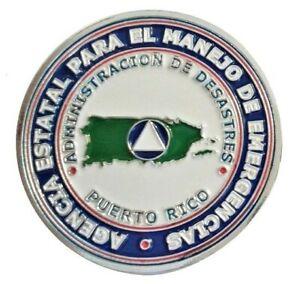 MANEJO de EMERGENCIAS Gobierno PUERTO RICO Defensa Civil Defense Disaster Relief
