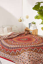 Large Elephant Tapestry Urban Mandala Wall Hanging Indian Cotton Bedspread Decor