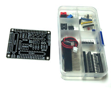 Raspberry Pi HAT - 32 I/O Port Expander - MCP23017 - I2C - Black - Kit Edition