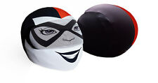 Harley Quinn Motorcycle Helmet Cover AND Visor Sticker Decal Street Sport Bike +