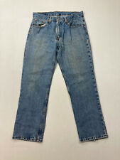 LEVI'S 516 STRAIGHT Jeans - W34 L30 - Blue - Great Condition - Men's