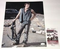 NORMAN REEDUS Signed DARYL DIXON 11x14 Photo Autograph WALKING DEAD JSA COA