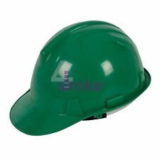 Safety Hard Hat - Green Builder Impact Ppe Protective Hi Vis Comfort New