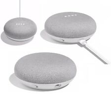 Google Home Mini Activated Wireless Bluetooth Speaker Google Assistant Chalk