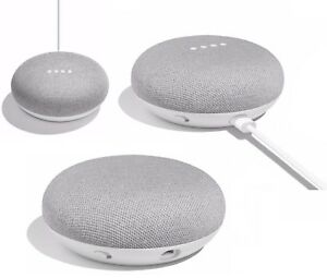 Google Home Mini Smart Assistant - Chalk