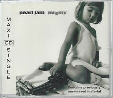 Pearl Jam - Jeremy RARE OP 3 track CD single w/live and unreleased track