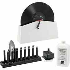 Knosti Disco Antistat Record Cleaning Machine 2 Generation with Hand Crank