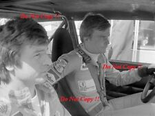 MARKKU ALEN & ilkka Kivimaki ALITALIA FIAT 131 ABARTH WRC Ritratto Fotografia 1