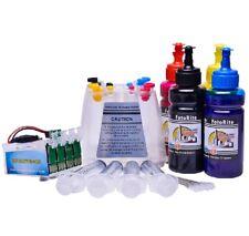 Non OEM ciss continuous ink system fits WF-7715DW, WF-7710DWF Pigment Ink