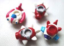 LOT de 4 avions miniature plastique jouet enfant Kinder !