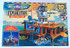 vintage 1996 Micro Machines Exploration Harbor Rescue Center Galoob NEW