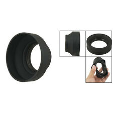 58mm Three Way Soft Rubber Lens Hood for Digital Film Camera LWUS Brand New