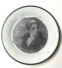 Antique Enoch Wood Historical Cup Plate w Andrew Jackson Presidential Campaign