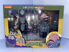 NEW NECA Teenage Mutant Ninja Turtles SHREDDER AND KRANG 2 pack TMNT