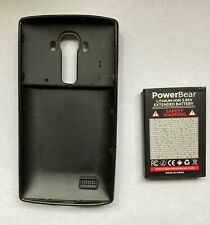 PowerBear 2X Extended Battery for LG G4 - Case and Battery