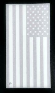 "NEW RALPH LAUREN WHITE,GRAY U.S. AMERICAN FLAG COTTON BATH,BEACH TOWEL 35""x 66"""