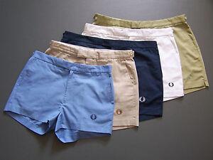Vintage Fred Perry Men's Shorts W28 in. W30 W32 W34 W36 W38 W40 W42 W44 Retro
