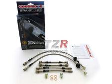 Goodridge Stahlflex Bremsleitung VW Golf 3 VR6 ab Bj. 3/95 Turbo TVW0611-6P