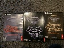 Neverwinter Nights & 2 expansions, hordes of the underdark and shadows of undren