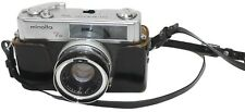 Vintage Minolta 7s Hi-Matic Film Camera 45mm f/1:1.8 Lens With Leather Case