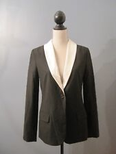 elizabeth and james New Sammi Blazer Sports Coat White on Black 6 MSRP $395