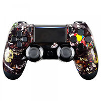 Scary Party Mod Cover Front Shell Faceplate for PS4 Pro Slim Controller JDM-040